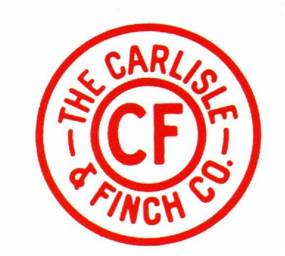 CF logo carlisle & finch searchlights  at alyssarenee.co